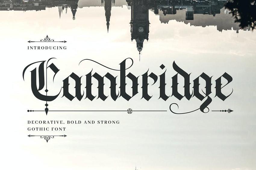 30 Inspiring Old English Fonts