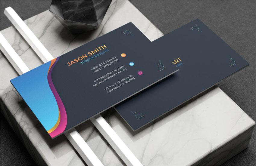 25+ Best Adobe Illustrator Business Card Templates (Free ...