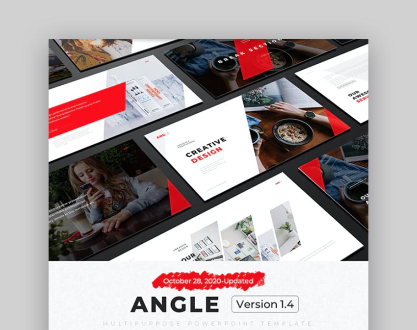 Angle Multipurpose PowerPoint Template