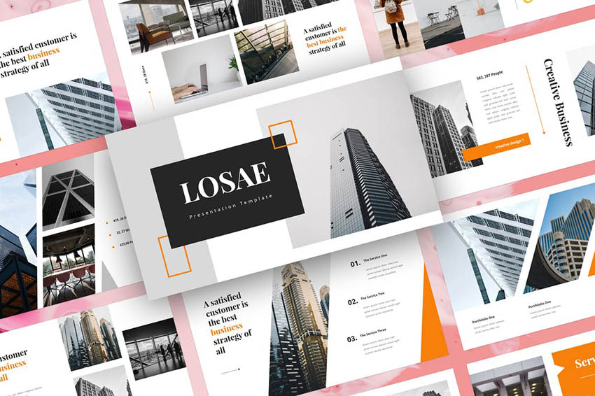 Losae - Business PowerPoint Template