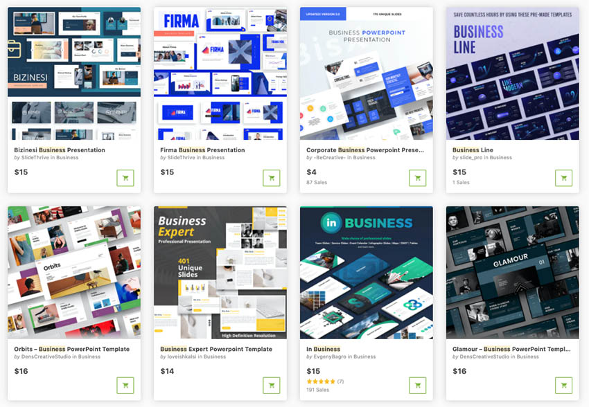 best powerpoint templates for business