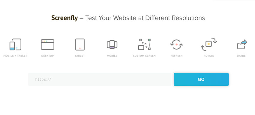 Screenfly allows you to test your responsive Shopify theme