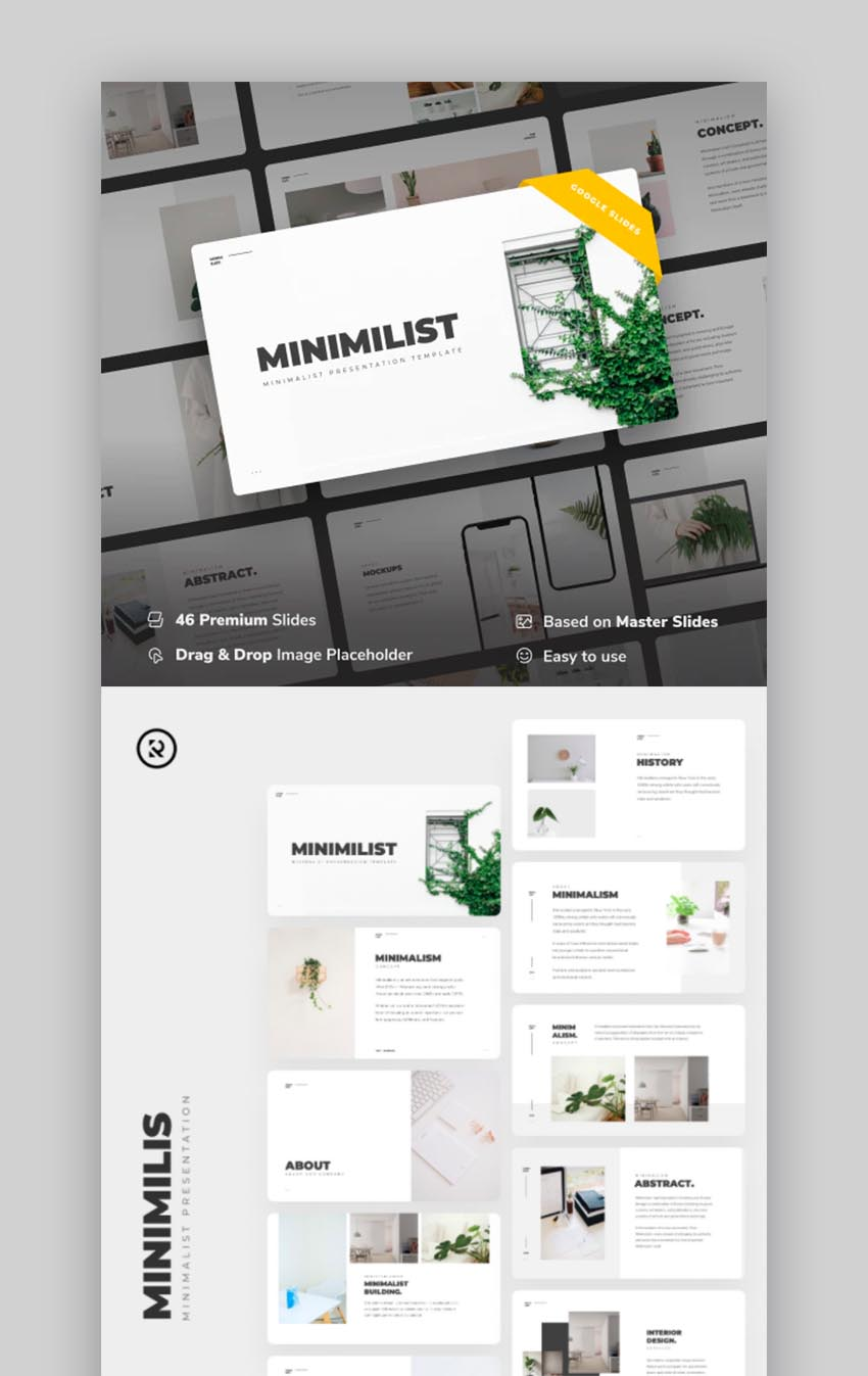 Minimilis - Minimalist Business Google Slides Template