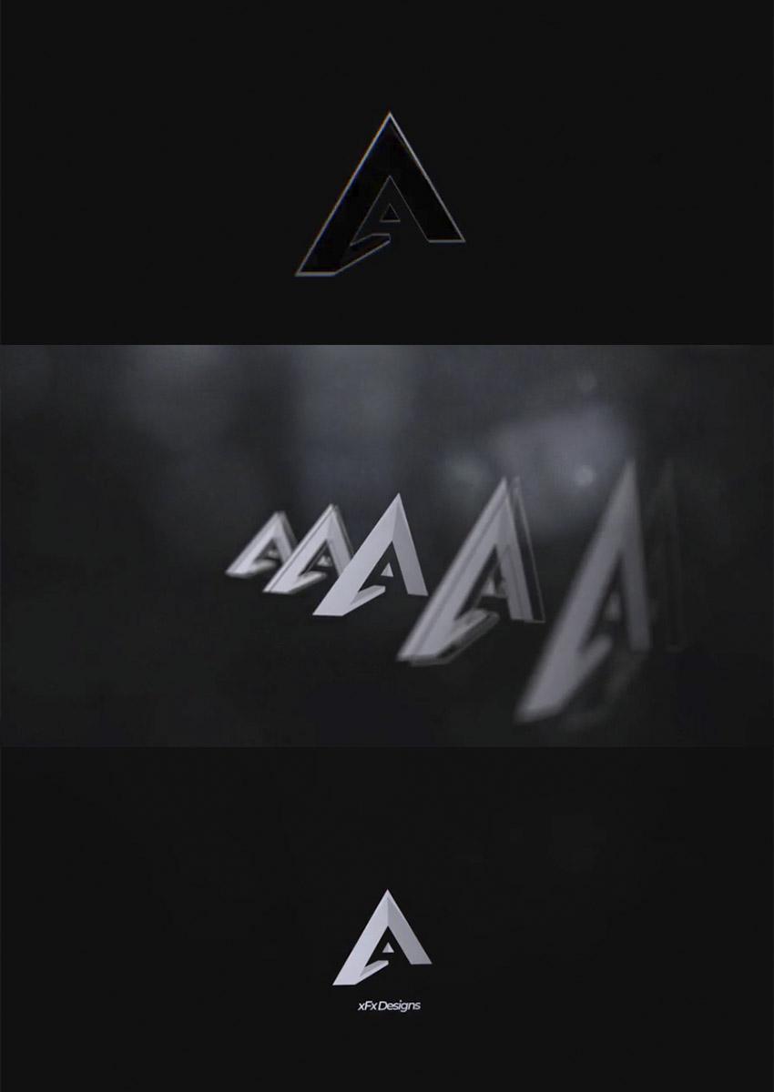 Perspective Logo Intro