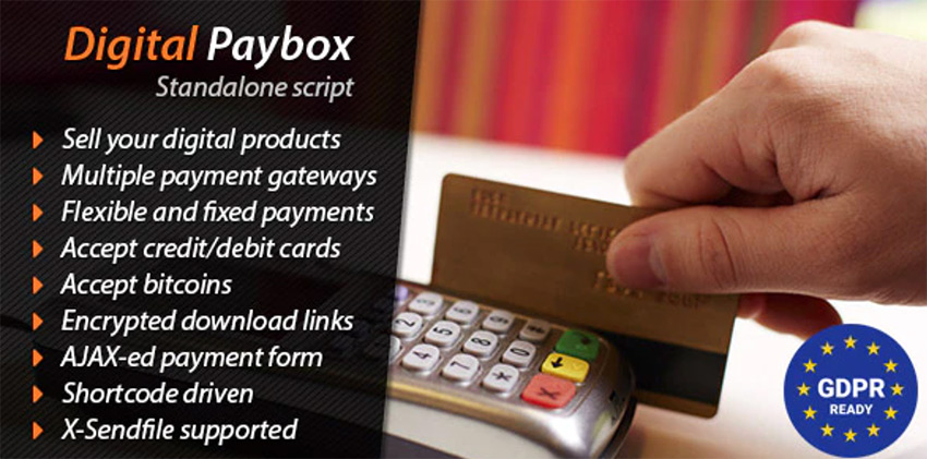 Digital Paybox - PHP Shopping Cart Script