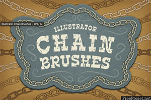 Chain Free Adobe Illustrator Brushes