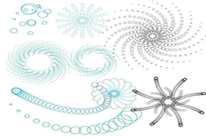 Spiral Bubbles Download Free Brushes Illustrator