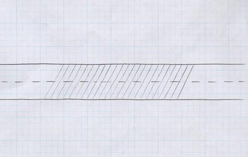 Basic Hand Lettering Techniques Tutorial Script Lettering Slope Guide