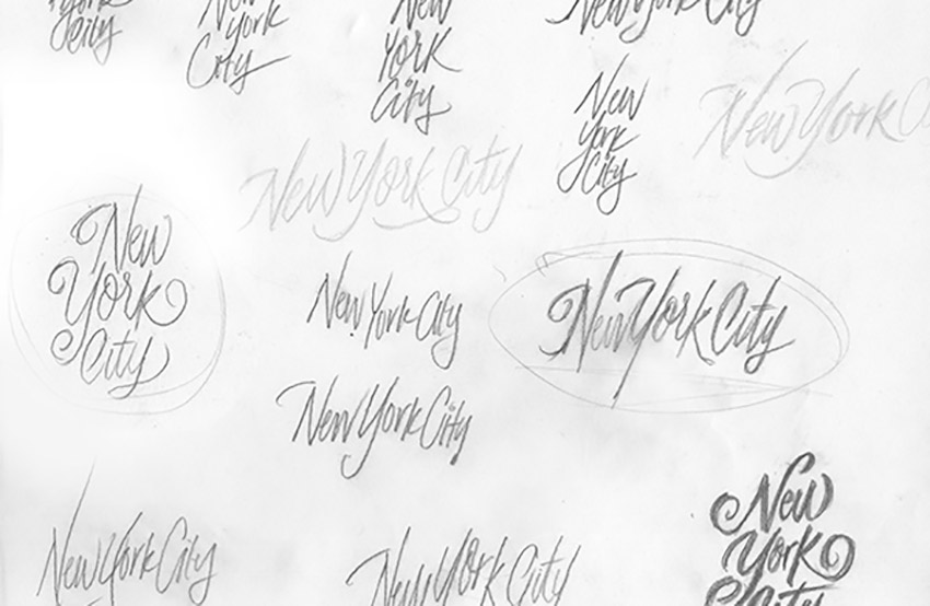 Mastering Brush Lettering Lessons Roundhand Selected Phrase Concepts