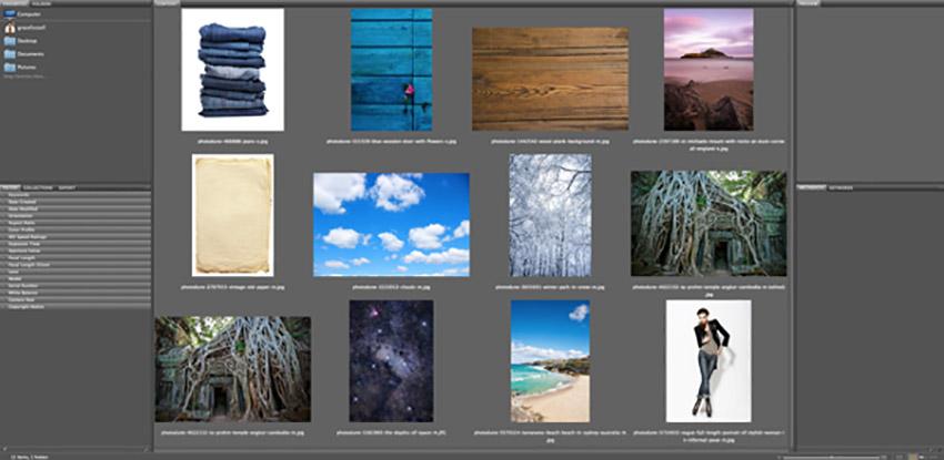 How to Make a Mood Board on InDesign Tutorial Adobe Bridge