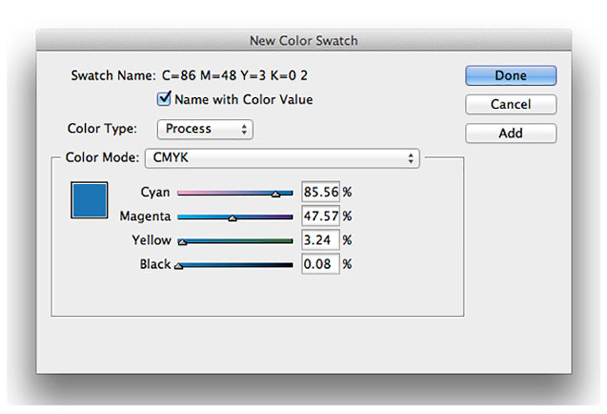 Moodboard Color Swatches InDesign Tutorial new moodboard color swatches
