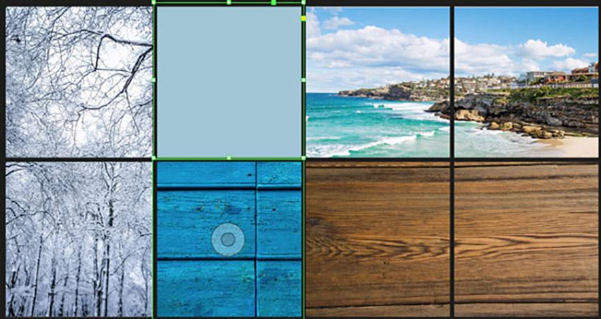 Color Mood Board InDesign Tutorial colored square