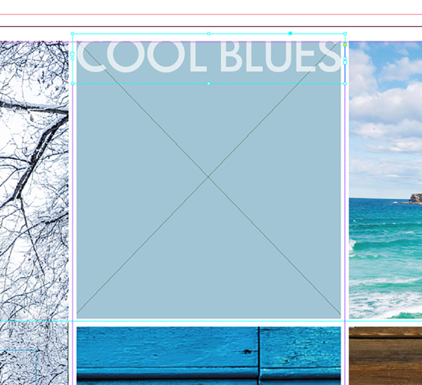 How to Make a Photo Collage on Mac and PC Tutorial text frame