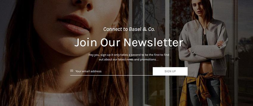 how to start an online store tips newsletter Basel