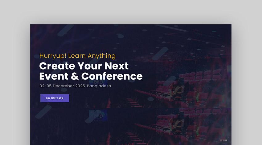 Emeet Event WordPress Template