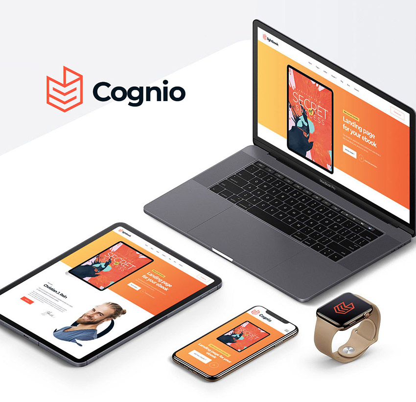 Cognio eBook CMS WordPress Theme