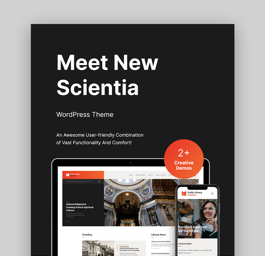 Scientia Best WordPressBook Template