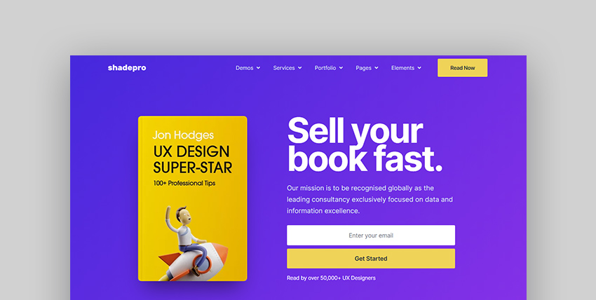 ShadePro Multipurpose WordPress eBook Store Template