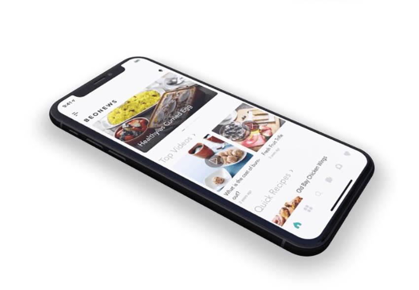 BeoNews React Native App Template
