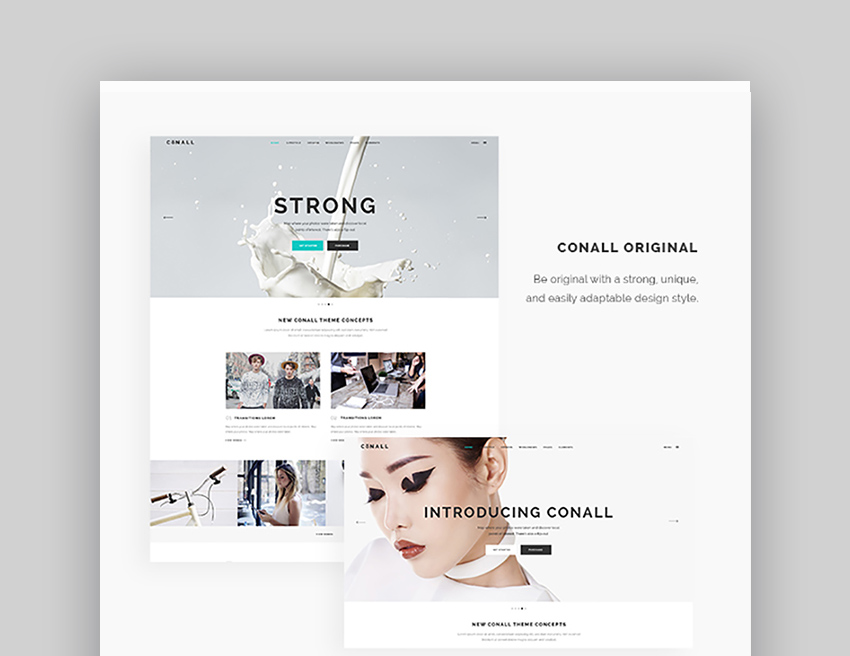 Conall Inspiration WordPress Theme