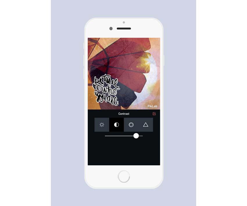 PikLab iOS App Layout Template