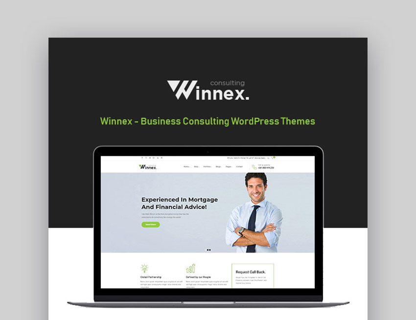 Winnex Best WordPress Themes For Business