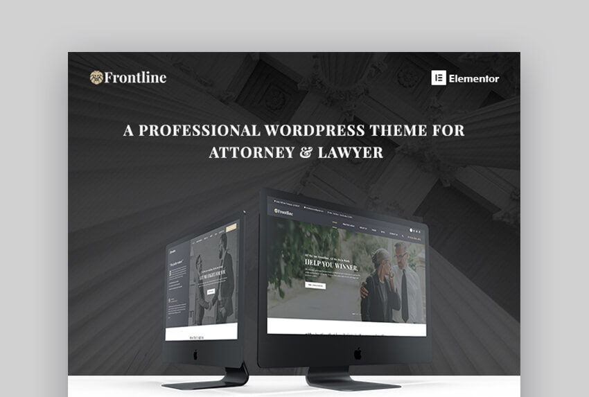 Frontline Lawyer WP Theme