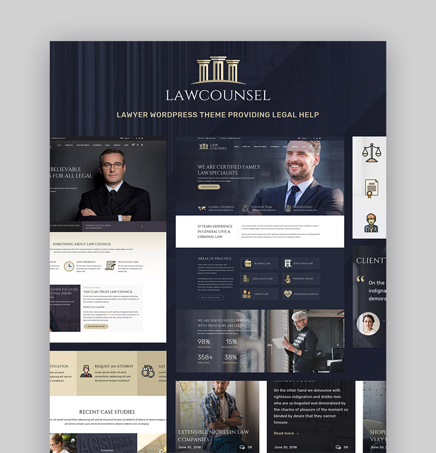 LawCounsel WordPress Legal