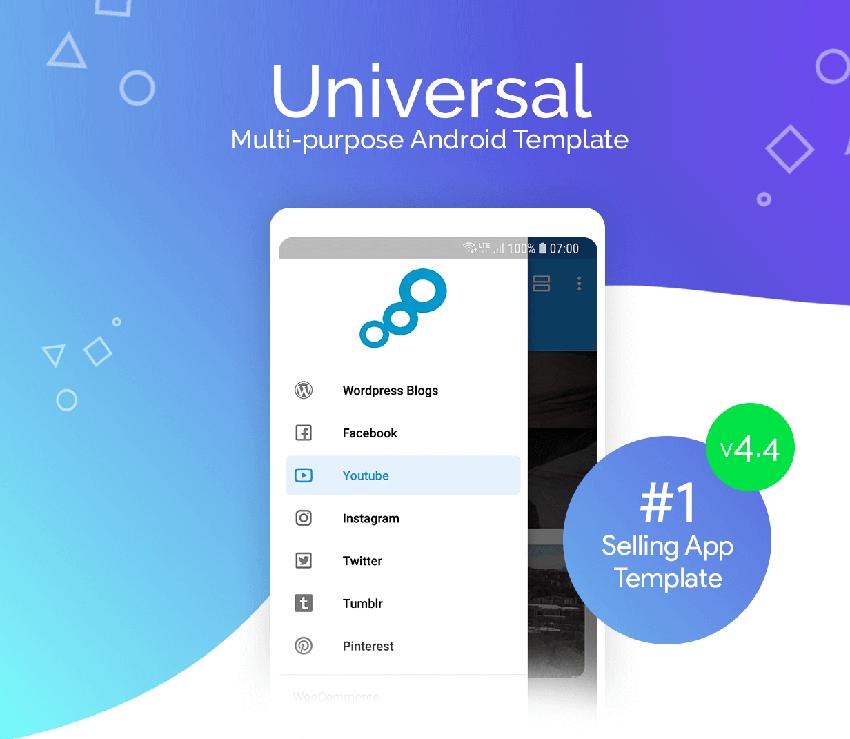 Universal Multi Purpose Android App Template