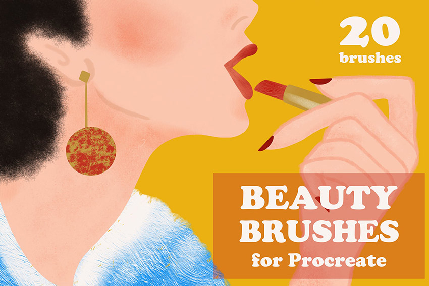 Beatuy Brushes Procreate Brush Pack