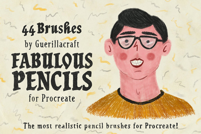 Fabulous Pencils Procreate Brush Pack