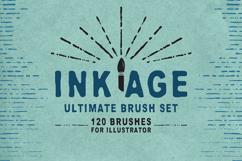 Ink Age Brushes Affinity Resources