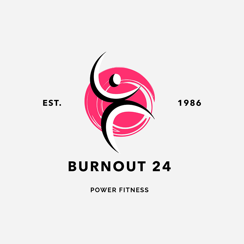 Health and Wellness Training Centers Fitness Logo Maker