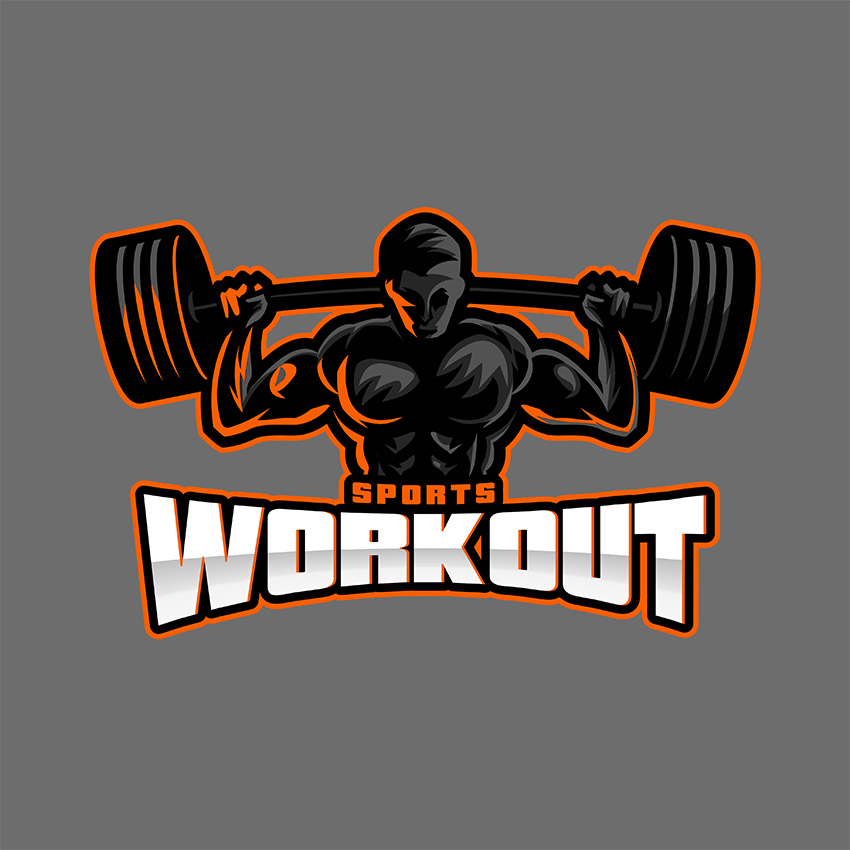 Sports Logo Maker for Fitness Center