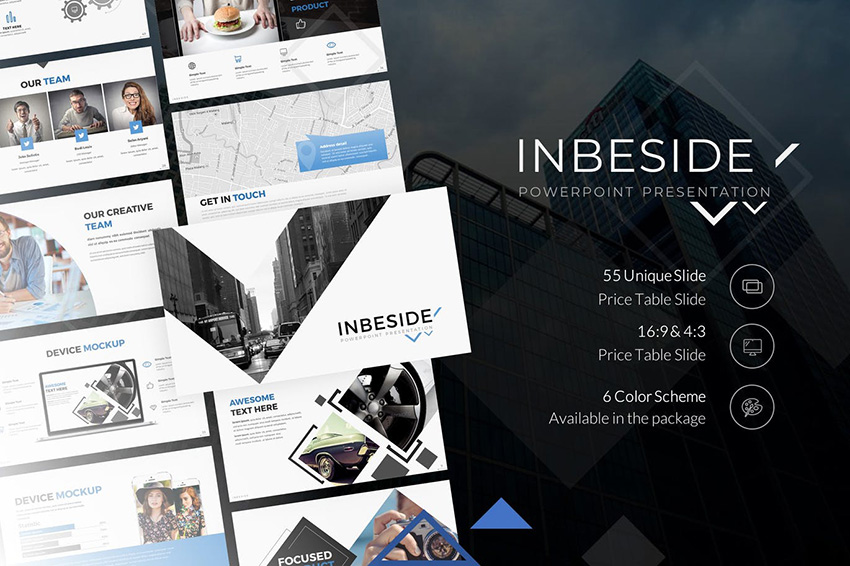 Inbeside Template PPT Simple