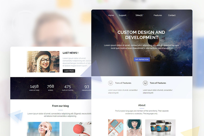 Premium Email Newsletter Template With Images