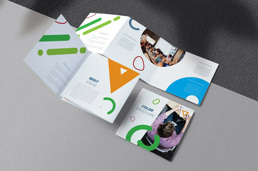 Colorful Business Brochure Template