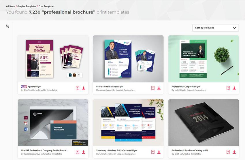 Professional Business Brochure Templates