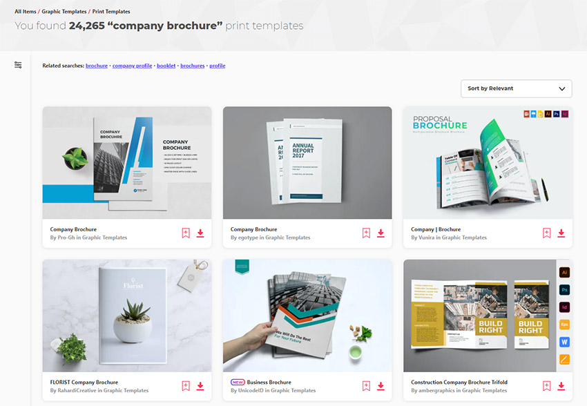 Premium Company Brochure Templates Envato Elements