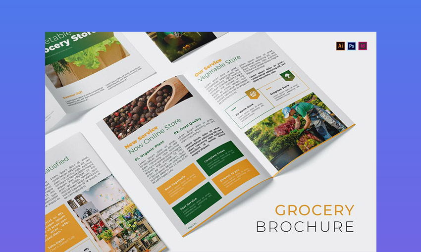 Vegetable Grocery Company Brochure