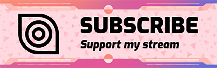 Subscribe Twitch Panel Maker Online Download