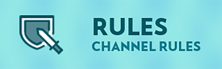 Twitch Panel Creator for Rules With Sword and Shield Graphics