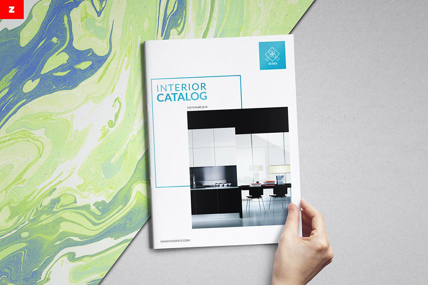 Stylish Product Catalog InDesign Template