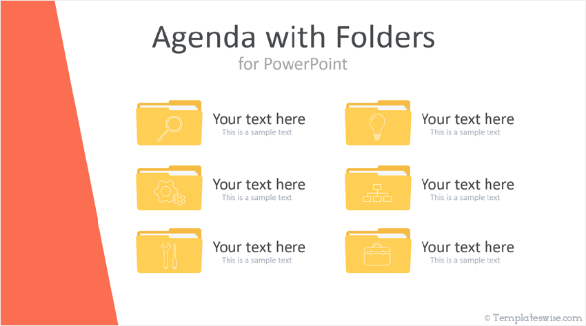 Agenda PowerPoint Template Free