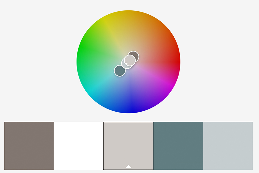 Complementary Gray Colors