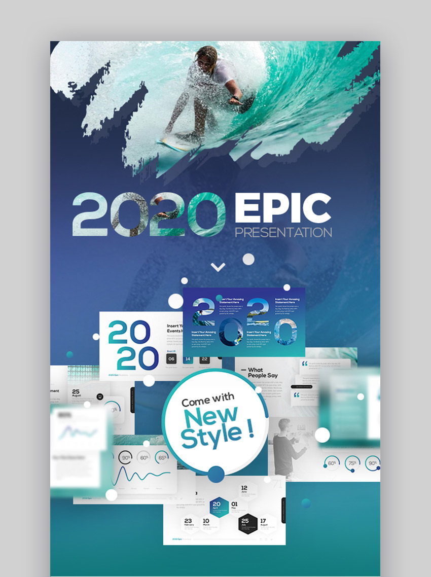 2020 Epic Best PowerPoint Presentations Examples PPT