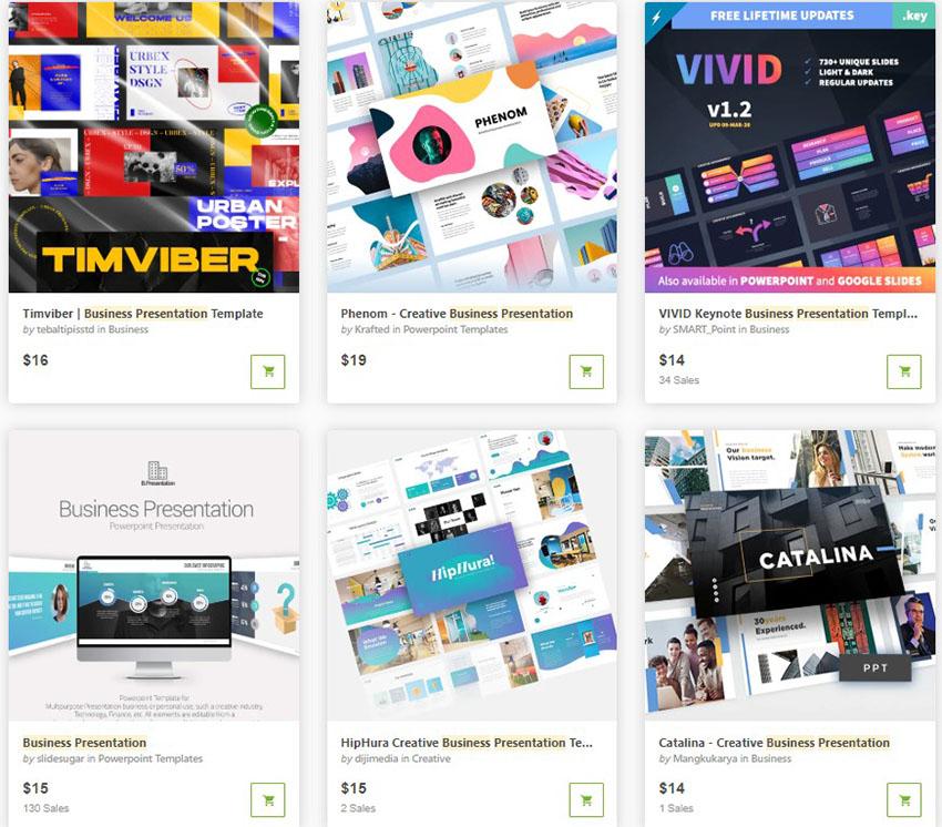 Business Presentation Templates GraphicRiver