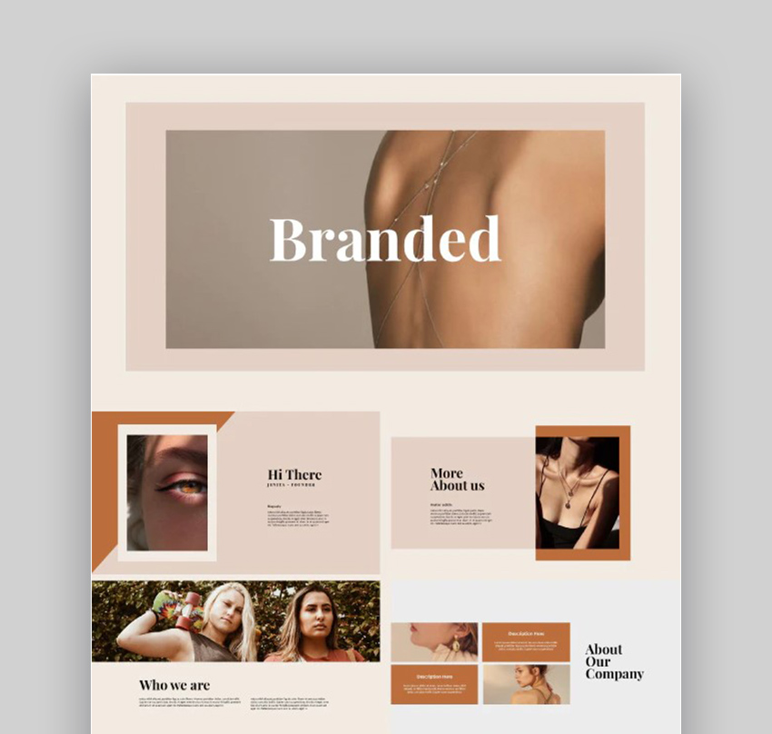 Branded Fashion PPT