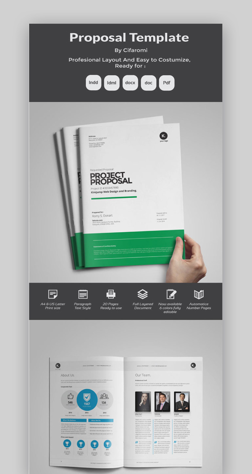 Business Proposal Microsoft Word Template