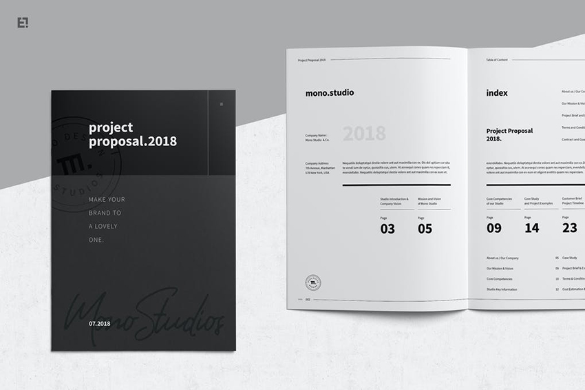 Commercial Proposal Template Word